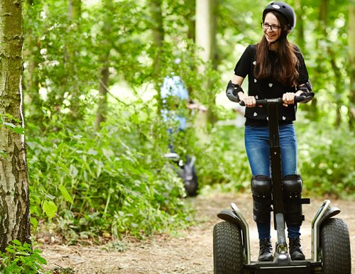 Win a segway tour in a fundraising auction