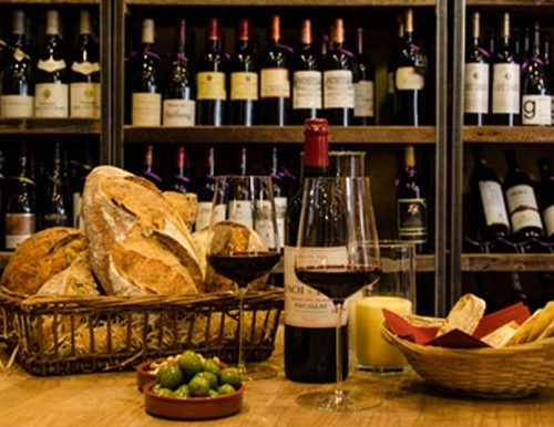 A trip to a wine cellar from a fundraising auction