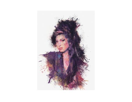 Amy Winehouse Glycee as a prize at a fundraising auction