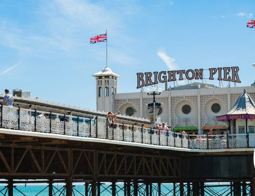 Win a trip to Brighton Pier in the UK as part of a fundraising auction