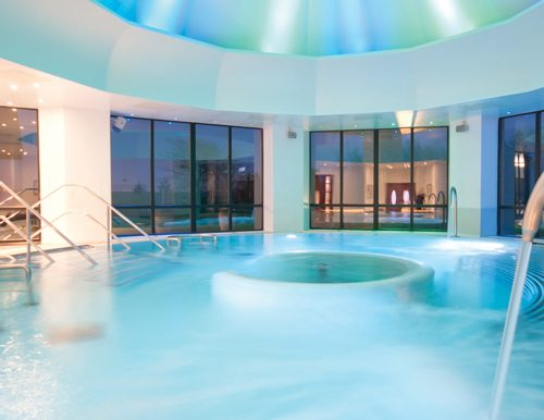 A spa experience as part of a fundraising auction