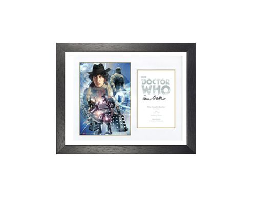 Dr Who Memorabilia as a prize at a fundraising auction