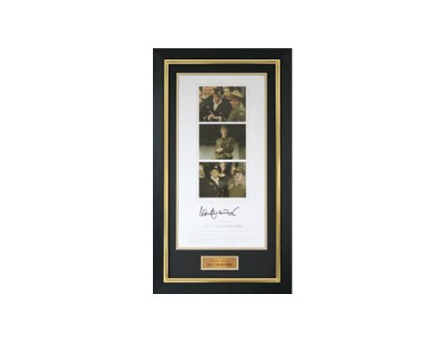 Dads Army Memorabilia as a prize at a fundraising auction