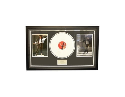 Michael Jackson signed memorabilia