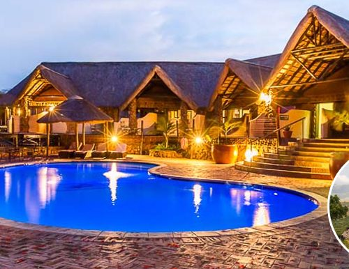 A safari lodge which is a prize lot at a fundraising auction