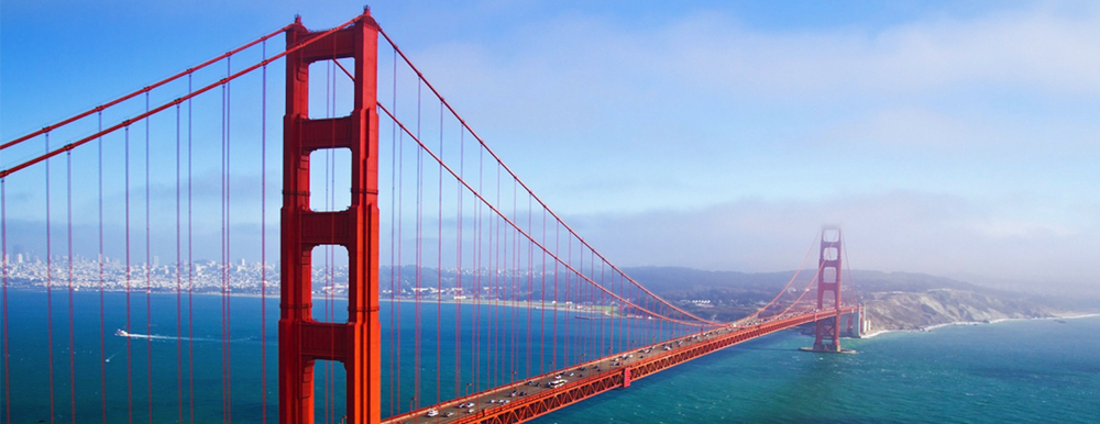 Visit the Golden Gate bridge as part of a fundraising auction lot prize