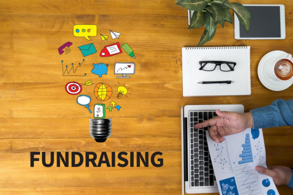 a man planning a fundraising program